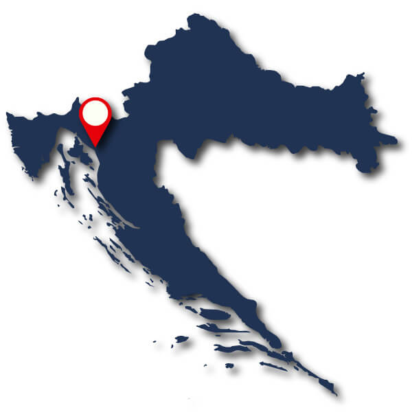 Croatian sailing base map